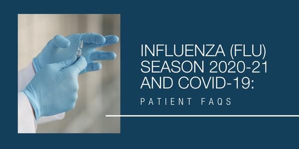 Flu Season 2020-21 and CV19 Patient FAQs (2)