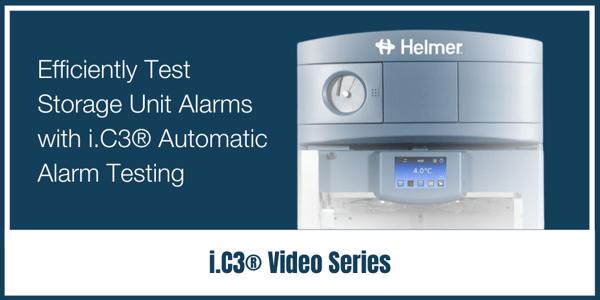 Efficiently Test Storage Unit Alarms with i.C3® Automatic Alarm Testing