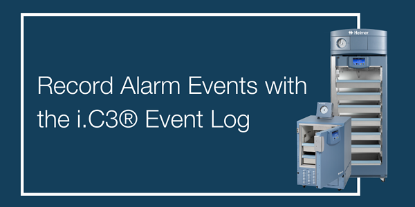 Record Alarm Events with the i.C3® Event Log