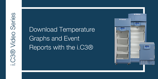 Download Temperature Graphs and Event Reports with the i.C3