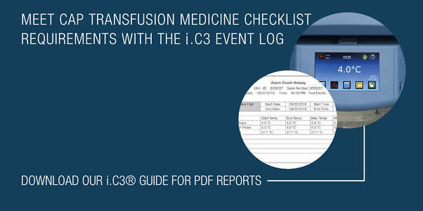 Meeting CAP Transfusion Medicine Checklist Requirements with the i.C3 Event Log (3)-1