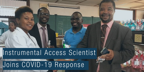 Copy of Instrumental Access Scientist Joins COVID-19 Response