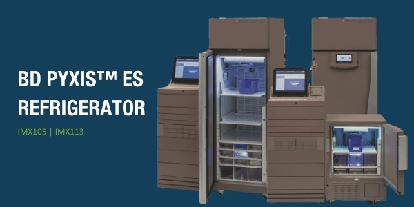 BD Pyxis™ ES Refrigerator with Helmer Access Technology