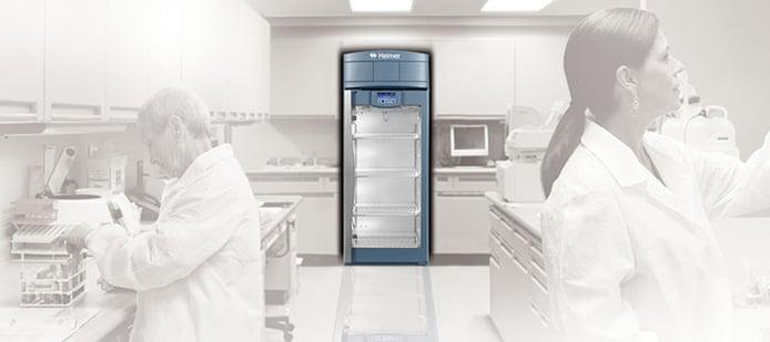 Medical grade laboratory refrigerator