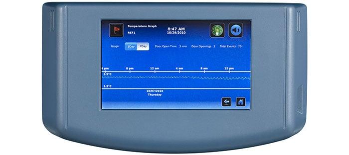 cold storage continuous temperature monitoring