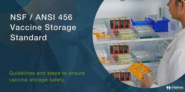 The NSF / ANSI 456 Vaccine Storage Standard has been published