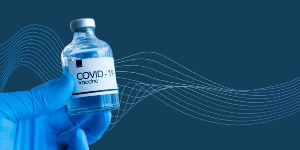 A COVID-19 vaccine image